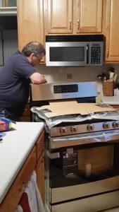 M stove instal